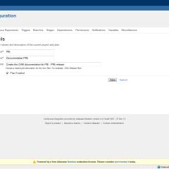 Configuration – Plan Details…